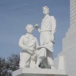Памятник строителям канала
